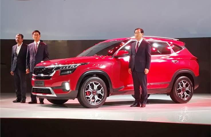 Kia Seltos SUV unveiled
