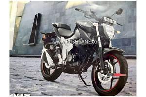 Updated Suzuki Gixxer 150 image leaked