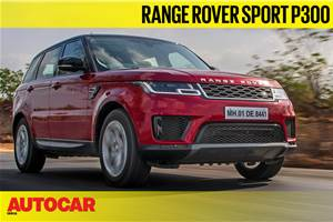 2019 Range Rover Sport P300 video review