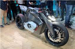 BMW Vision DC Roadster electric concept bike unveiled