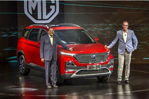 MG Hector launched at Rs 12.18 lakh