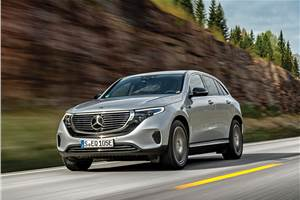 Mercedes-Benz EQC review, test drive