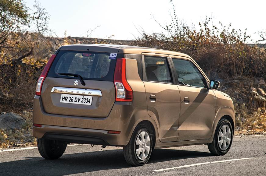 New rear styling gives the impression of a compact SUV.
