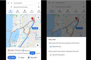Google Maps introduces 'Stay Safer' feature in India