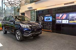 Mahindra unveils World of SUVs dealership model