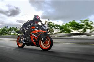 KTM RC 125 review, test ride