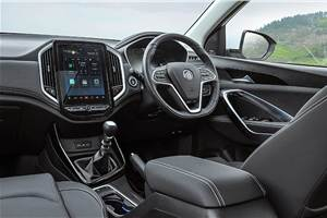 MG Hector interior highlights detailed