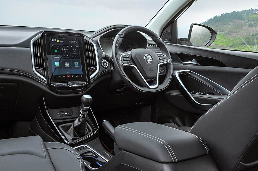 Mg Hector Interior What S Good What S Bad Autocar India