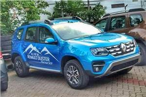 Renault Duster facelift launch on July 8, 2019