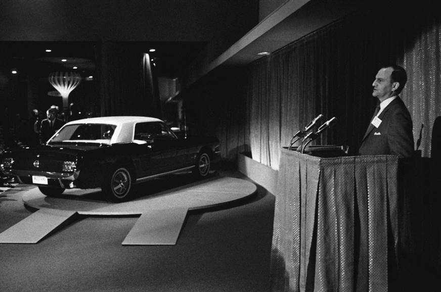 Lee Iacocca at the 1964 World's Fair.