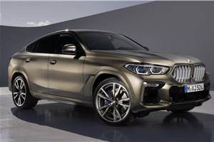 New BMW X6 unveiled with revamped styling and engines