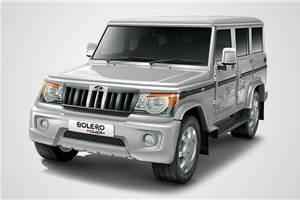 Mahindra Bolero range updated with more safety kit