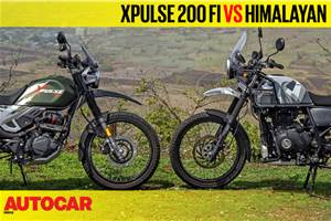 2019 Hero XPulse 200 FI vs Royal Enfield Himalayan comparison video