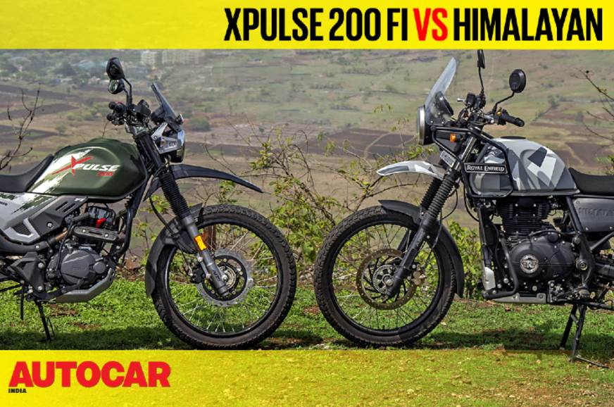 2019 Hero XPulse 200 FI vs Royal Enfield Himalayan compar...