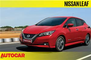 2019 Nissan Leaf video review