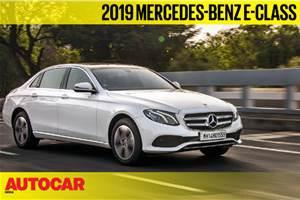 2019 Mercedes-Benz E 220d BS6 video review