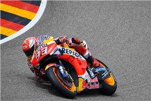 Sachsenring MotoGP: Marc Marquez takes record 10th German GP win