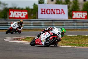 Honda NSF250R Talent Cup debuts in India
