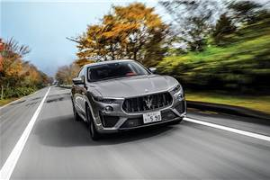 Maserati confirms Levante Trofeo India launch for end-2019