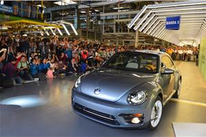 Volkswagen Beetle production comes to an end