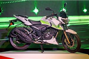 Ethanol-powered TVS Apache RTR 200 Fi E100 launched at Rs 1.20 lakh