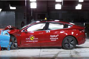 Tesla Model 3 scores 5-stars in latest Euro NCAP tests
