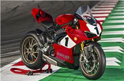 Ducati Panigale V4 25 Anniversario 916 launched at Rs 54.90 lakh