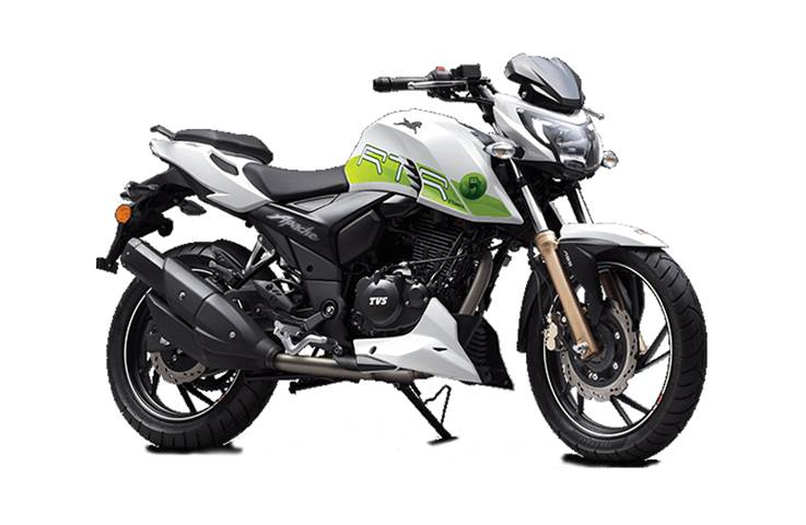 Ethanol-powered TVS Apache RTR 200 Fi E100: Your question...