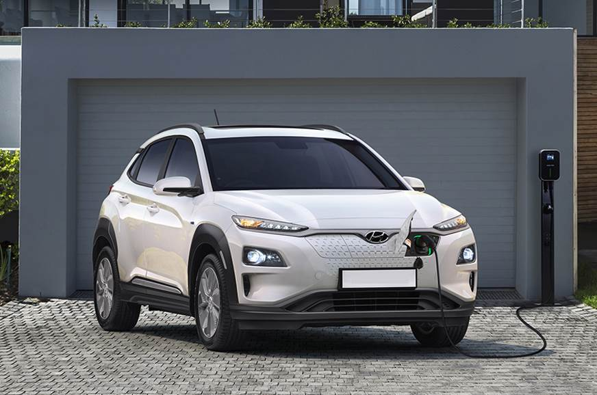Hyundai Kona Electric used for representation only.