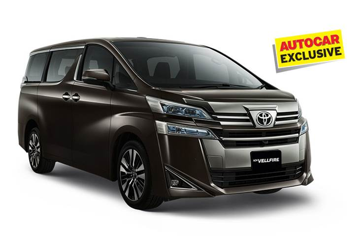 Toyota Vellfire luxury MPV coming in October 2019