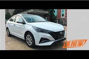 Hyundai Verna facelift: first pics