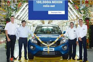 Tata Nexon crosses 1 lakh-unit production milestone