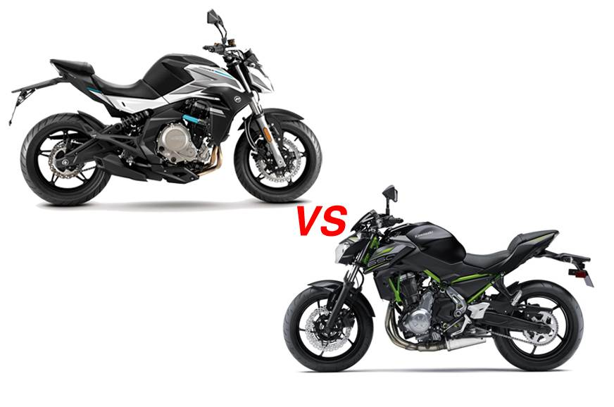 CFMoto 650NK vs Kawasaki Z650: Specifications comparison