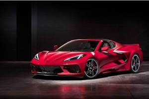Chevrolet Corvette C8 Stingray breaks cover