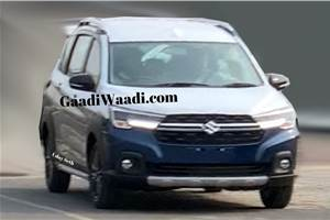 Maruti Suzuki XL6 front styling revealed