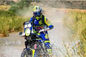 TVS' Michael Metge wins 2019 Baja Aragon