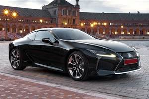 Lexus LC500h to launch in the next 12 months