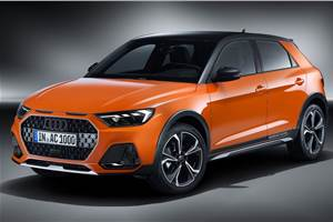 Audi A1 Citycarver cross-hatch unveiled