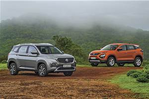 MG Hector vs Tata Harrier comparison