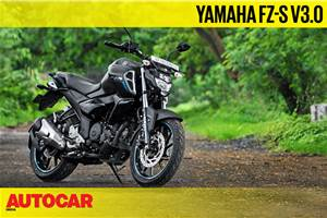 2019 Yamaha FZ-S V3.0 video review