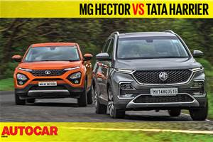 MG Hector vs Tata Harrier video comparison