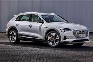 Entry-level Audi e-tron 50 e-SUV revealed