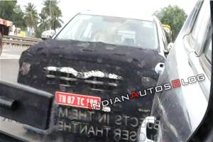 Next-gen Hyundai Creta spied in India