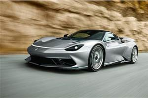 New Pininfarina Battista images reveal more details