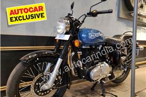 New Royal Enfield Bullet 350X spied undisguised