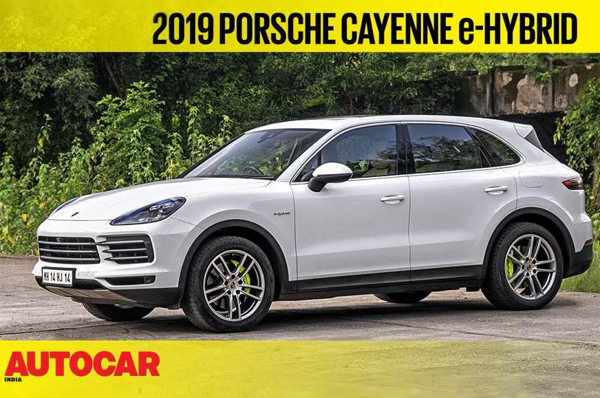 2019 Porsche Cayenne e-Hybrid video review