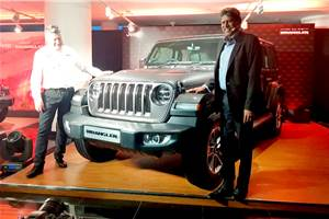 2019 Jeep Wrangler launched at Rs 63.94 lakh