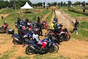 Honda flags-off Africa Twin True Adventure Camp in India