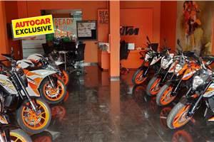 KTM India dealerships set for an upgrade