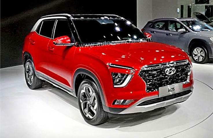Next-gen Hyundai Creta (ix25) engine details, dimensions ...